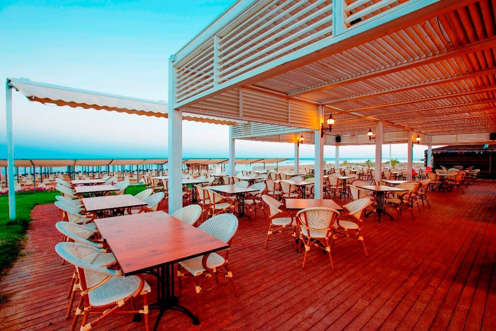 Ramada beach bar